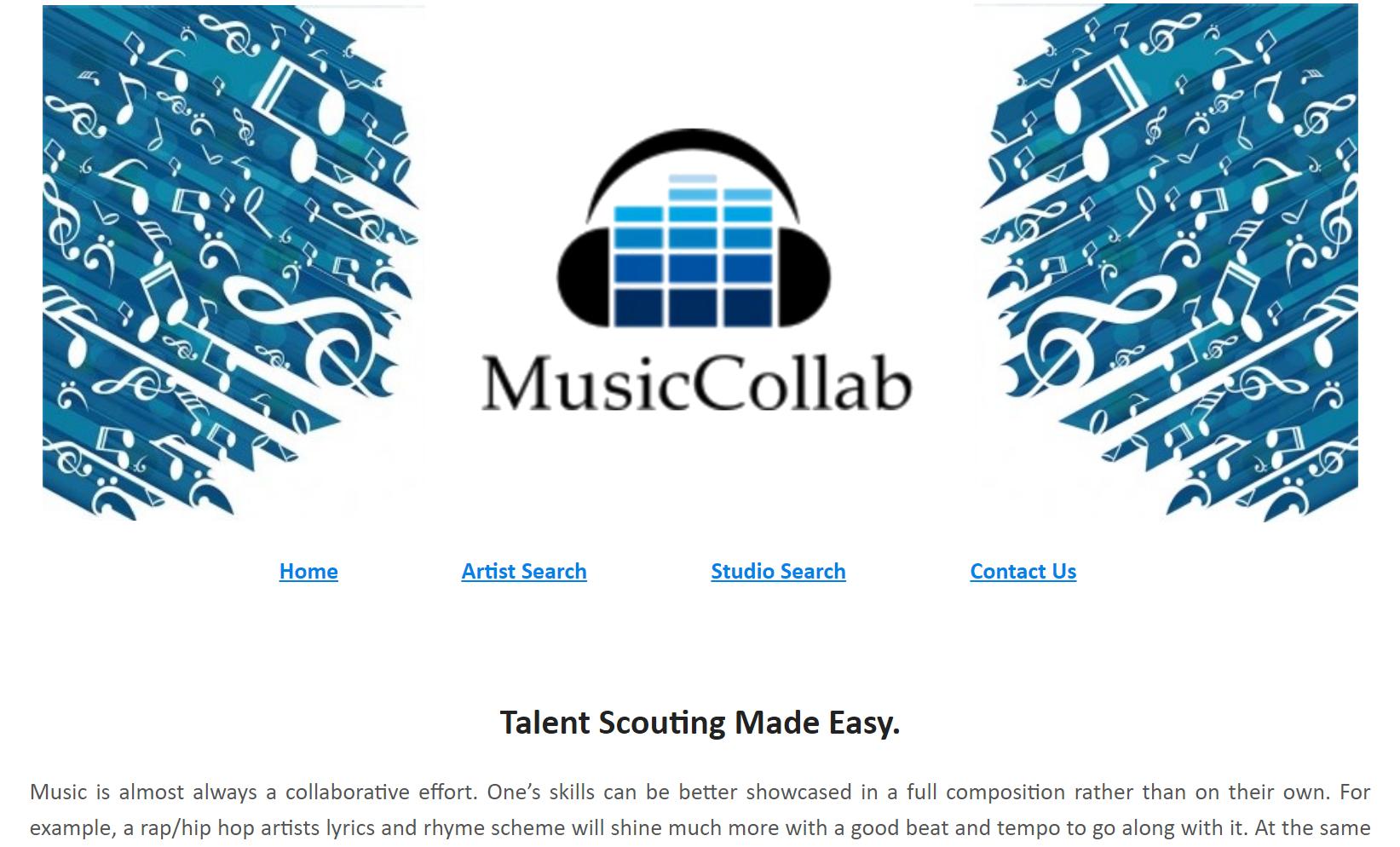 Adventures in Entrepreneurship: MusicCollab